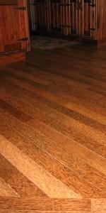 Coconut wood floor