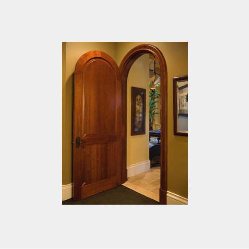 Rounded Interior Door