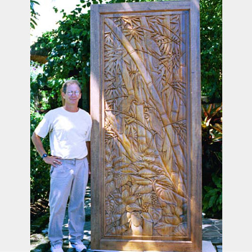 Large Carved Door